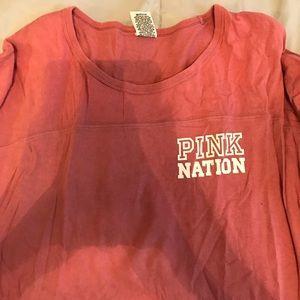 PINK Victoria's Secret Tops - Quarter length sleeve shirt
